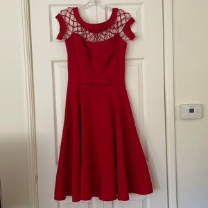 Tatyana red party dress S